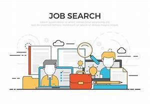 Job Search Vector Illustration - Download Free Vector Art ...