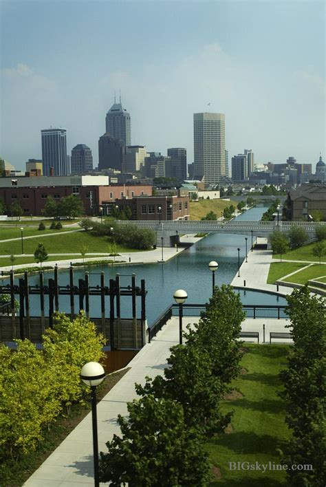 City Indiana by Indianapolis Indiana City Skyline Pic In Usa