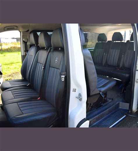 mercedes benz vito   seater tailored van seat covers