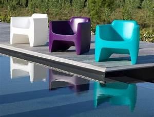 Fauteuil Plastique Jardin : fauteuil de jardin design mobilier design betonboutik ~ Teatrodelosmanantiales.com Idées de Décoration