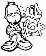 Hop Hip Coloring Pages Dance Drawings Printable Drawing Sketch Urban Kid Dancing Tattoo Block Print Rick Ross Books Sketchite Template sketch template