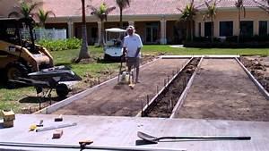 Shuffleboard Court Resurfacing And Construction