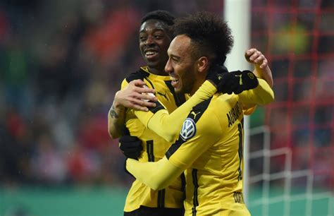 Pierre-Emerick Aubameyang dreams of playing with Ousmane ...