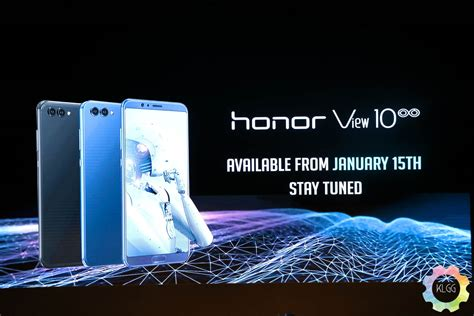honor teases the view 10 which will arrive on 15 january 2018 in malaysia klgadgetguy