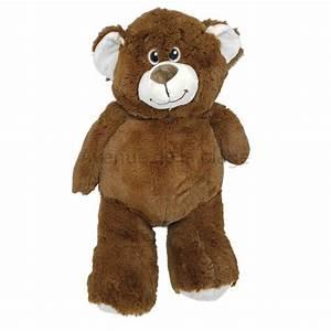 Ours En Peluche : ours en peluche 38 cm peluche ourson traditionnel pas cher ~ Teatrodelosmanantiales.com Idées de Décoration
