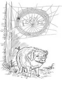 charlotte  wilbur coloring page  printable