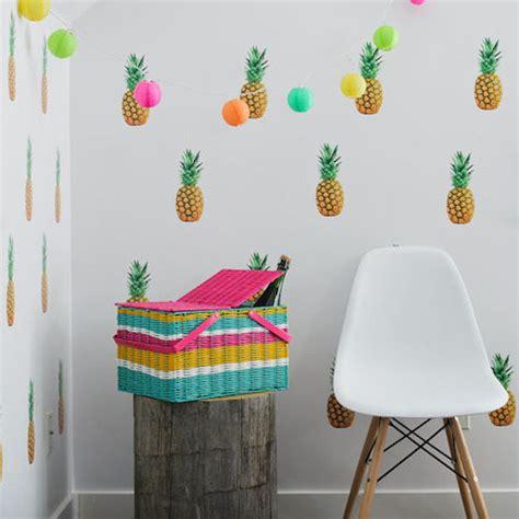 veilleuse chambre idées déco des ananas pour la chambre de vos enfants