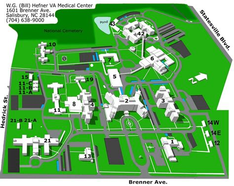 salisbury n c offender map facility map w g bill hefner va medical center