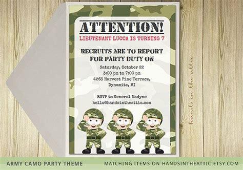 army theme birthday party camo party camouflage theme