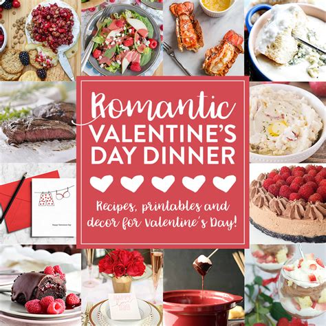valentines day dinner recipes 12 ideas for a romantic valentine s dinner fun squared
