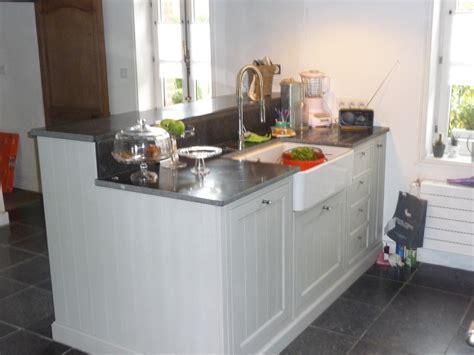 cuisine cottage cuisine equipée chêne blanc authentique cuisines liebart