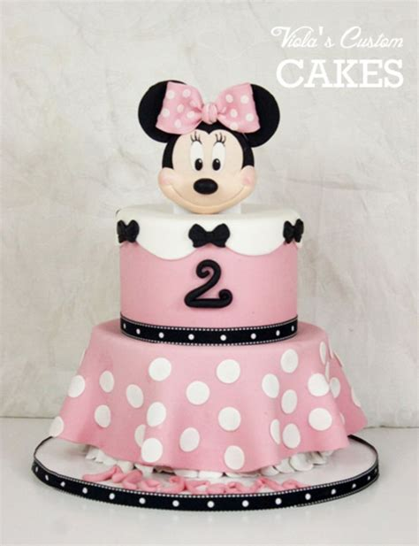 ideas  minnie mouse cake  pinterest mini