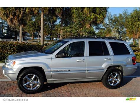 silver jeep grand cherokee 2004 bright silver metallic 2004 jeep grand cherokee overland