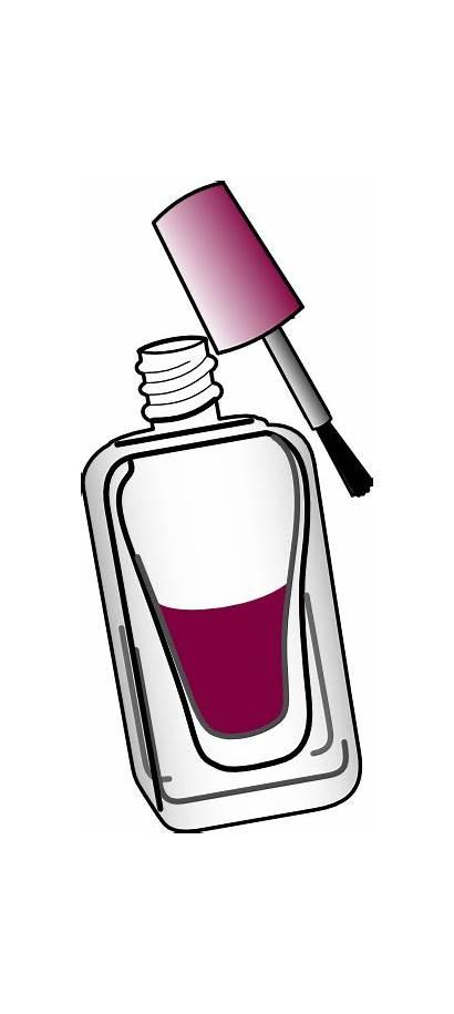 Nail Polish Clip Clipart Nails Pedicure Animated