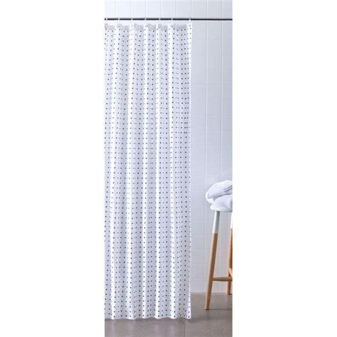 Polyester Shower Curtain   Spot   Kmart