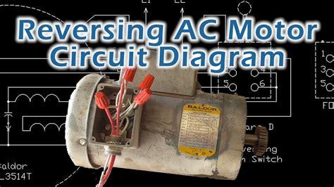 baldor single phase ac motor circuit diagram