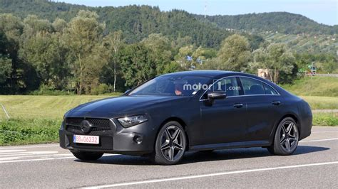 2018 Mercedes Cls Spied With Less Camo Than Ever Before