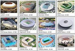 Fifa World Cup 2018  World Cup Venue Full Details  Pacific