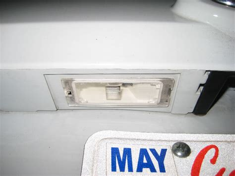 ford escape license plate light bulbs replacement guide
