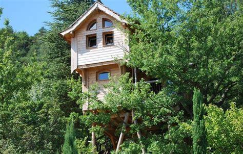 chambre d hote cabane dans les arbres cabane dans les arbres n 84g3201 à entrechaux vaucluse