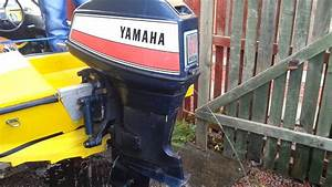 Yamaha 55 Am Outboard Running
