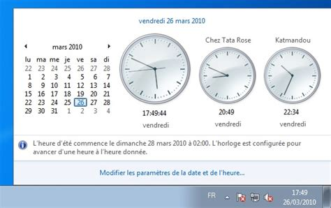 afficher l horloge sur le bureau windows 7 comment afficher l horloge sous windows 8