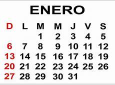 Calendario de enero 2013 para poderlo imprimir Lo nuevo