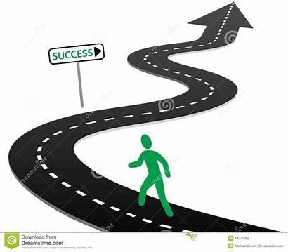 Clipart Success Highway Journey Road Map Roadmap