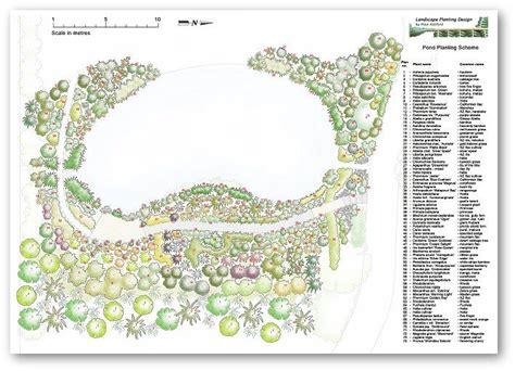 plant by numbers garden design pond planting and landscaping mosgiel 2006 design portfolio presentation pinterest