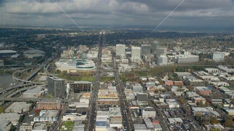 In Portland Oregon Near Lloyd Center by Convention Center And Office Buildings Near Moda Center