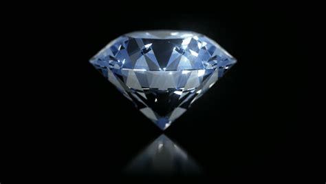 single perfect diamond rotating stock footage video