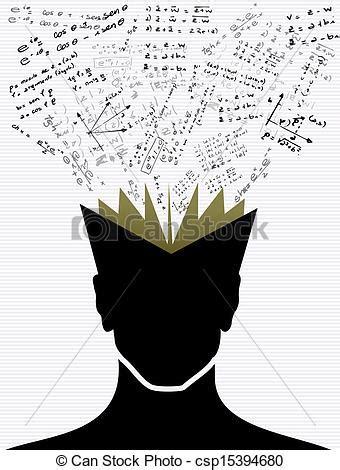 vector  education icons   school human head book