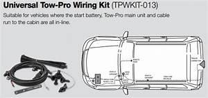 Redarc Tow-pro - Wiring Kit - Universal