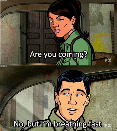 Sterling Archer Meme - when he found a different way to say danger zone sterling archer and tvs