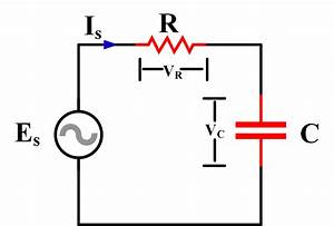 passive components in ac circuits with equations With circuit rc