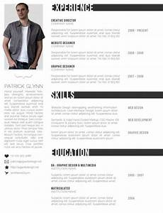 top 10 free resume templates for web designers With creative professional resume templates