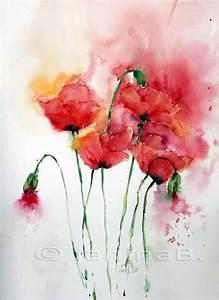 Aquarell Malen Blumen : die besten 17 ideen zu blumen malen auf pinterest ~ Articles-book.com Haus und Dekorationen