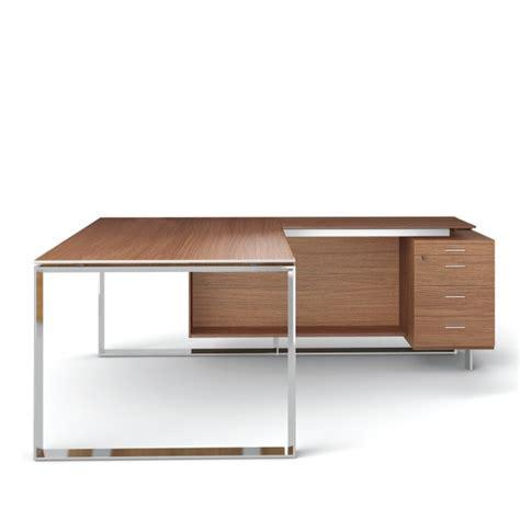 modele bureau design bureau avec retour 180cm 200cm en aluminium eight