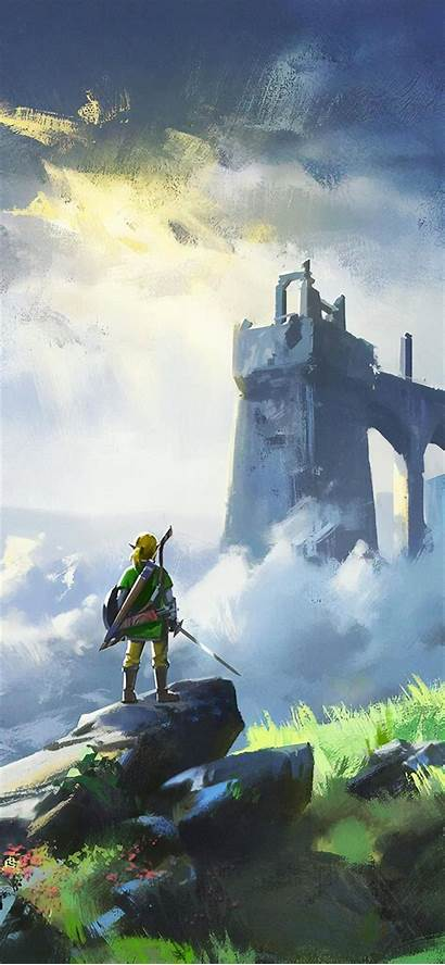 Zelda 4k Iphone Legend Breath Wild Xr