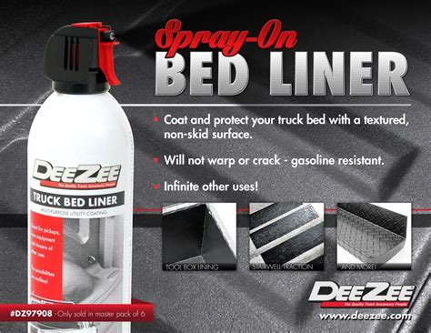 aerosol bed liner new product deezee spray on bed liner taw all access