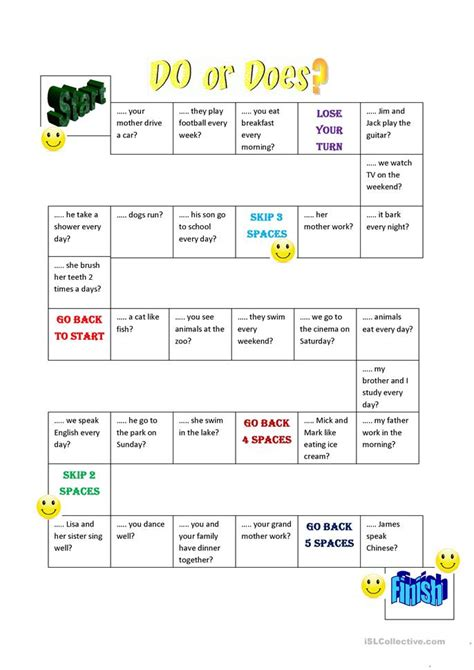 Do, Does, Don´t, Doesn´t Worksheet  Free Esl Printable Worksheets Made By Teachers