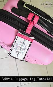 ultimate one stop guide on how to make fabric luggage tags With homemade tags for sewing
