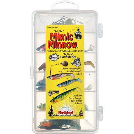 mimic minnow panfish fishn kit walmartcom
