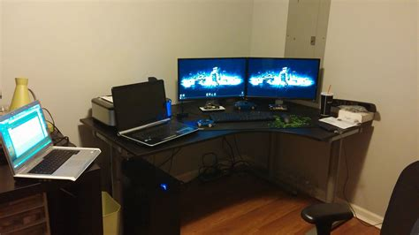 17 linnmon corner desk setup best 25 gaming desk