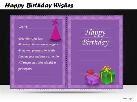 happy birthday wishes powerpoint   db