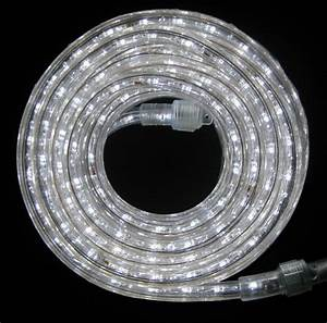 Led Rope Light 9ft 110v 120v 2 2 U0026quot  White Outdoor