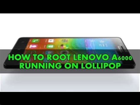 Tutorial Root Lenovo A6000 how to root lenovo a6000 a6000 plus twrp recovery