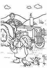 Coloring Farmer Farm Couple Coloringsky источник sketch template
