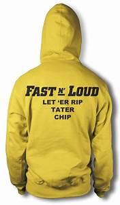 BNWT FAST N LOUD LET ER RIP TATER CHIP ADULT ZIPPED CUSTOM ...