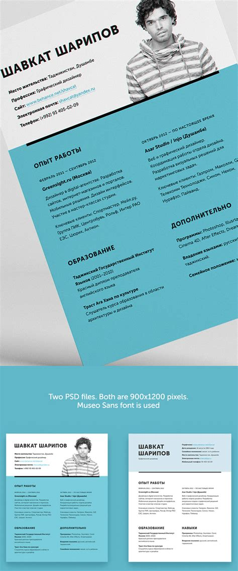 Templates Free by Free Professional Cv Resume And Cover Letter Psd Templates